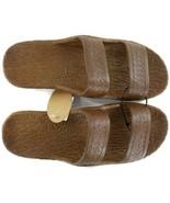 Pali Hawaii Jesus Sandals Jandals Light Brown SZ 9 Unisex Men Women Slip... - £10.13 GBP