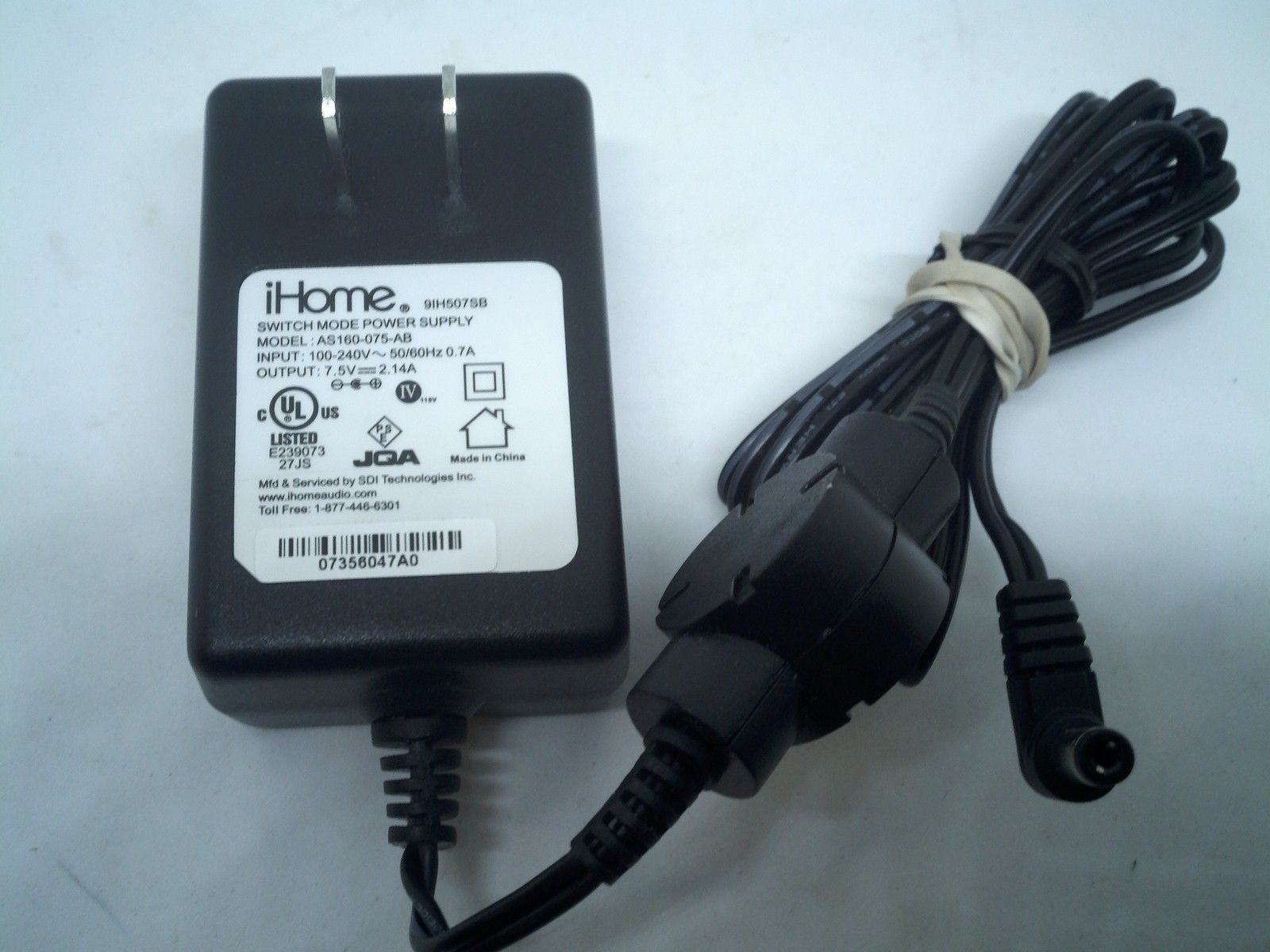 iHome AC/DC Adapter Power Supply and 10 similar items