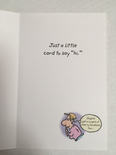 American Greetings Thinking of You Card-Humor/Cartoon