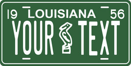 Louisiana 1956 License Plate Personalized Custom Car Bike Motorcycle Mop... - $10.99+