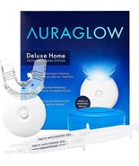 AuraGlow Teeth Whitening Kit, LED Light, 35% Carbamide Peroxide, (2) 5ml... - $63.99