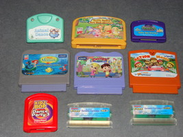 Lot of Various Learning Game Cartridges LeapFrog Vsmile Fisher Price + More - $12.00