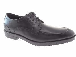 Rockport Dressport 3.0 Davinton Men's Black Leather Oxford Sz 10, V75907 - $71.09