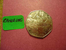 2011 English Fifty Pence >>Canoeing<< >>>>> Co - $1.98