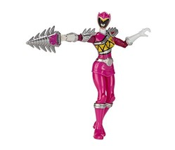 "Power Rangers Dino Super Charge - 5"" Dino Steel Pink Ranger Action Figure - $50.37"