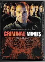 Criminal Minds Complete First Season DVD Mandy Patinkin Matt Gray Gubler... - $11.95