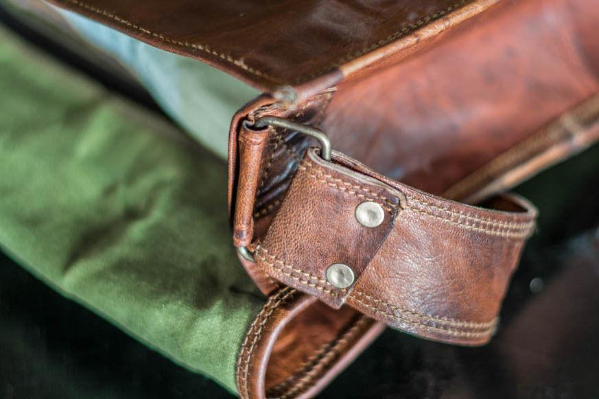 New Men's Genuine Leather Laptop Messenger Handmade Briefcase Office Satchel Bag