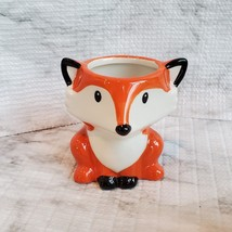 Animal Planters with Succulents, Fox and Raccoon, 3 inches, ceramic image 5