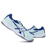 ASICS UPCOURT 3 Men's Indoor Shoes Sports Badminton Sky Blue NWT 1072A01... - $64.08