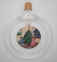 Princess House Crystal & Porcelain Christmas Ornament #859 Decorating th... - $22.00