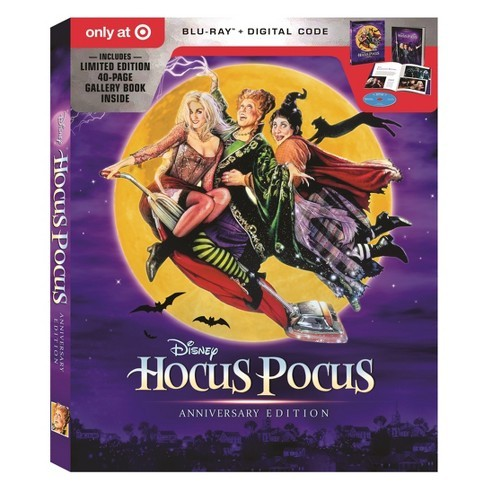 Disney Hocus Pocus 25th Anniversary Edition Target Exclusive (Blu-ray + Digital)