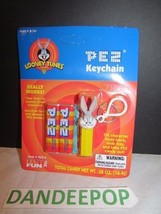 Pez Candy Keychain New sealed Looney Tunes Bugs Bunny C. 2000 #933-0 - $19.79