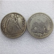 1860-p SEATED LIBERTY SILVER DOLLARS High Quality  - $7.00