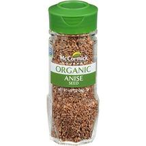 McCormick Gourmet Organic Anise Seed, 1.37 oz - PACK OF 3 - $24.70