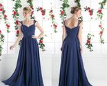 cheap simple cocktail evening long prom dresses cheap bridesmaid dresses   pd0156 thumb155 crop