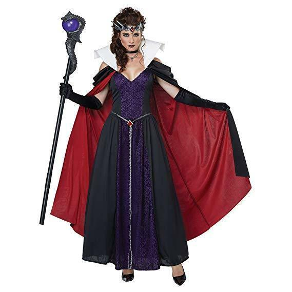 California Costumi Evil Libro di Racconti Regina Donne Adulte Halloween 01430