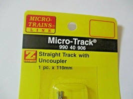 Micro-Trains Micro-Track # 99040906 Track with Uncoupler Z-Scale image 2