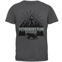 Retirement Plan Head To The Mountains Mens T Shirt - $16.95+