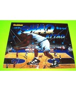 Gottlieb Shaq Shaquille O'Neal Attaq Pinball Translite Basketball Art NOS 1994 - $129.20