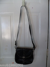 Liz Claiborne Black Shoulder Bag New Last One - $47.20