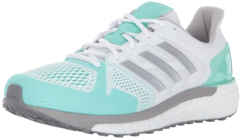 adidas Performance Womens Supernova ST Running Shoe White/Silver/Aqua BB3507