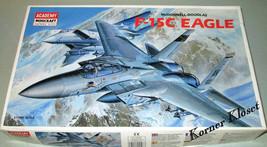 Academy Minicraft - F-15C Eagle Jet Fighter - 1:72 Scale Plastic Model K... - $25.11