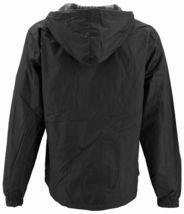 Men's Water Resistant Polar Fleece Lined Hooded Windbreaker Rain Jacket image 15