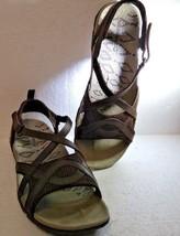 Merrell Women's, Sandspur Delta Wrap Sandals, Bracken, Size 9, J343128C - $65.16