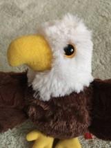 Wild Republic CK Huggers Brown Bald Eagle Plush Stuffed Animal Toy Snap ... - $12.13