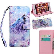 XYX Wallet Phone Case for Sony Xperia XA1 Ultra,[Wrist Strap] Painted De... - $9.88