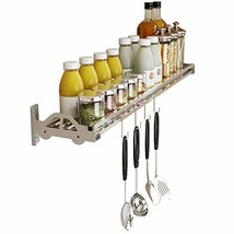 Wall Mount Spice Rack Storage Organizer, Kitchen Seasoning Hanging Rack ... - £28.07 GBP