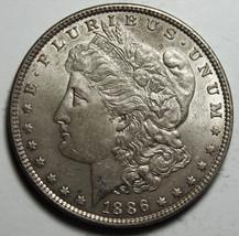 1886 MORGAN SILVER DOLLAR COIN Lot# D 32