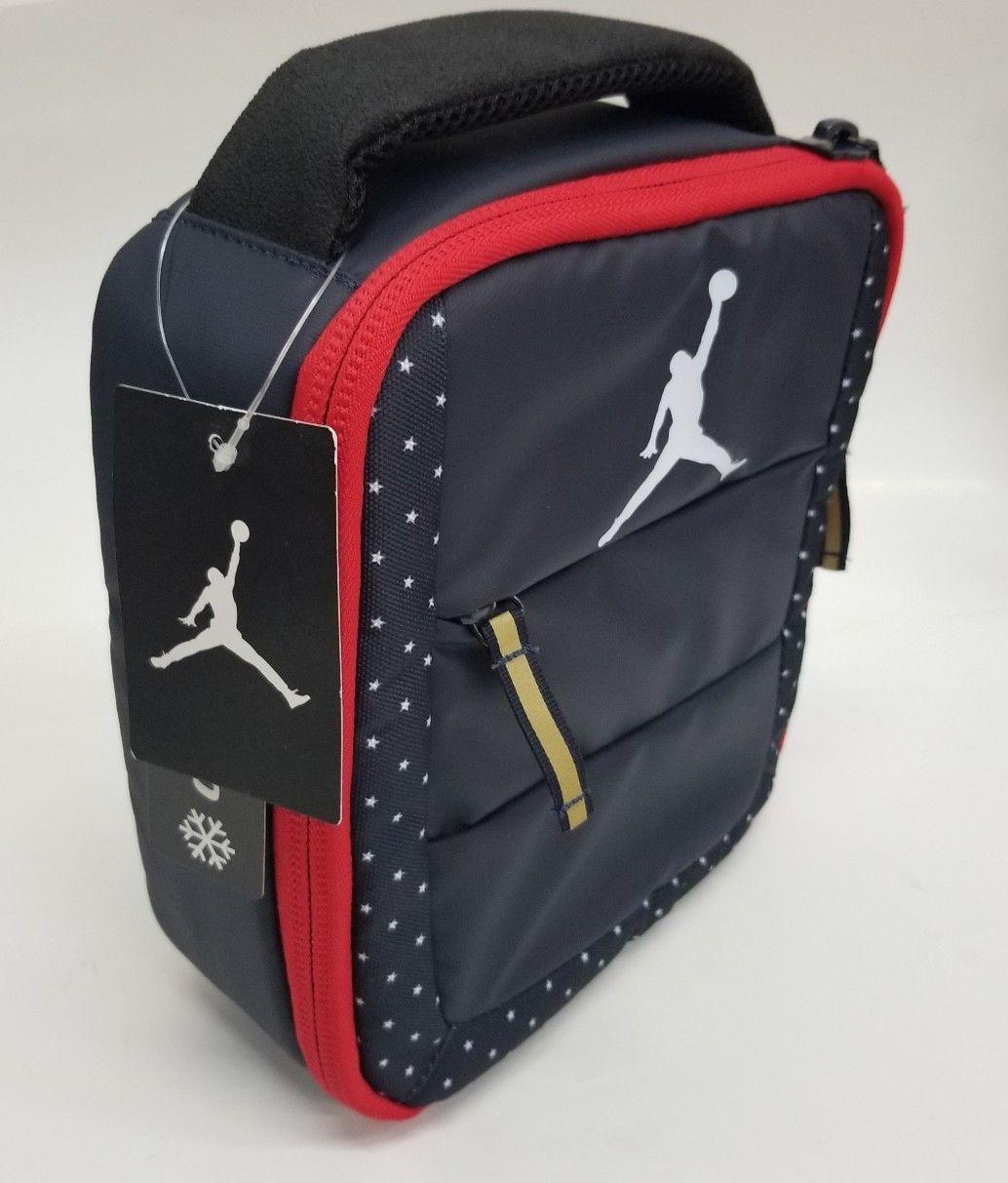 f11b7f54d3 Nike Air Jordan Insulated Lunch Box Bag Tote and similar items. S l1600