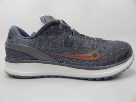 Saucony Freedom ISO Size 7 M (B) EU 38 Women's Running Shoes Gray S10355-30