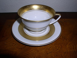 """Royal Jackson Fine China - Elegance -  2 1/8"""" Tall  Footed Cup & Saucer - $24.95"""
