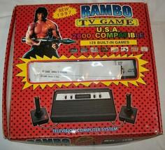 NEW NIB NOS Rambo TV Games Atari 2600 Clone legendary game console 128 Games #10 - $171.00
