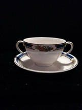 PAREEK CREAM SOUP CUP AND SAUCER JOHNSON BROS. ENGLAND - $24.00