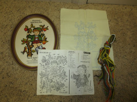 1978 Paragon BOY IN APPLE TREE CREWEL Embroidery  Kit #8032 - Including ... - $5.94