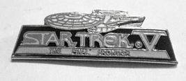 Star Trek Movie Number Five Enamel Pin 1989 - $7.95