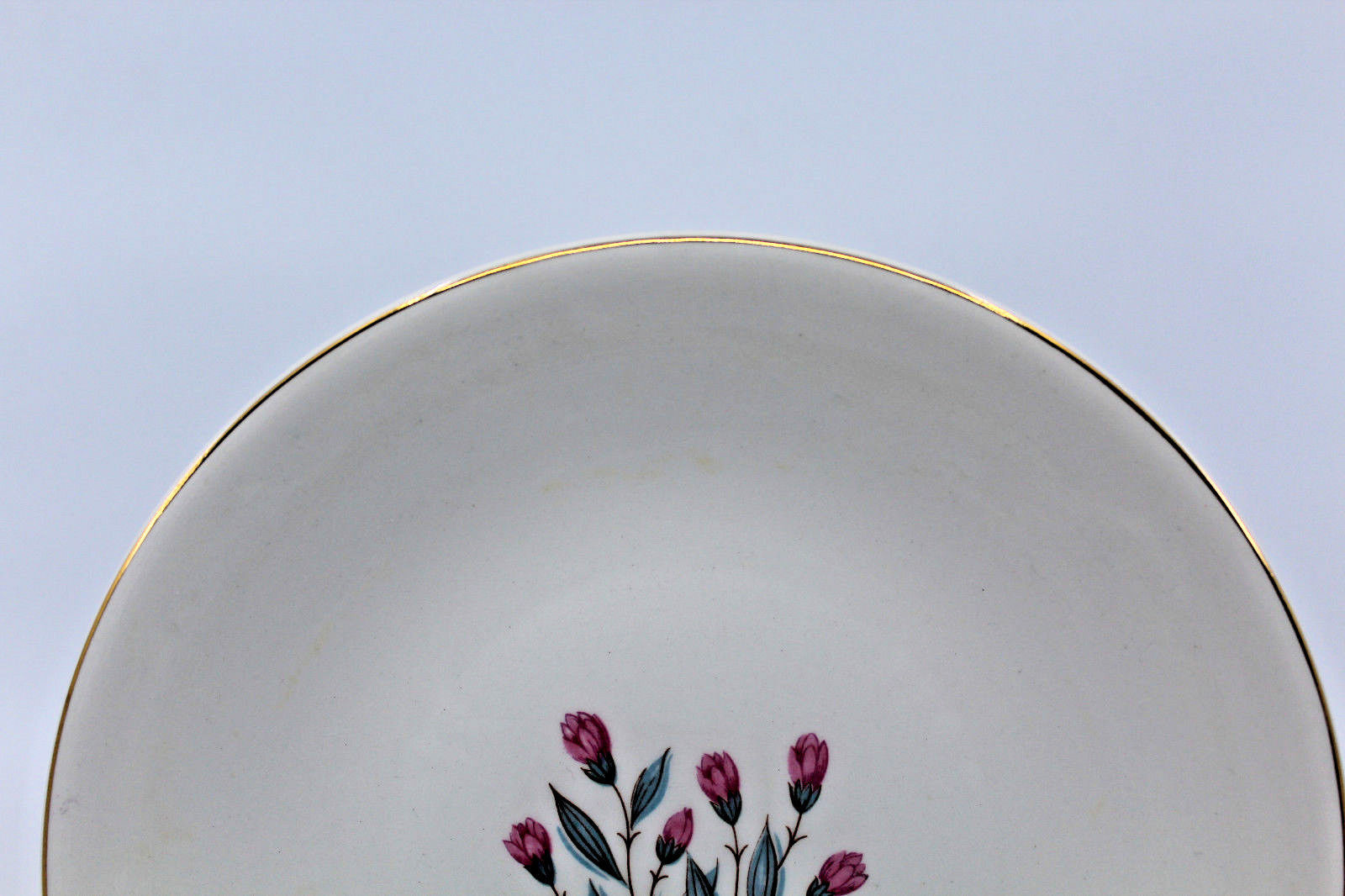 Enoch wedgwood tunstall ltd Bread and Butter Side Plate Pink Flower 17.5 cm image 5