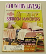 Country Living Magazine May 2001 Bedroom Makeovers, Craft Shows - $8.35