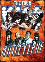 KISS Band - Motley Crue The Tour 2012 Stand-Up Display - Flames Version - $15.99