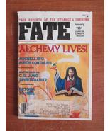 Fate Magazine January 1991, Vol 44, No. 1, Issu... - $3.00