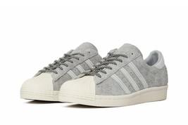 Adidas Originali Superstar 80s Scarpe Sportive Uomo Grigio da Tennis - S... - $102.33
