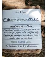 Organic Wildflower Wishes.  - Nature Perfume Hydrating Soap - $3.50