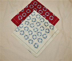 Two Vintage Polo Ralph Lauren Silk Handkerchiefs Pocket Squares Life Pre... - $45.00