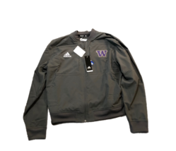 NWT New Washington Huskies adidas Aeroready Urban Bomber Sideline Small Jacket - $54.40