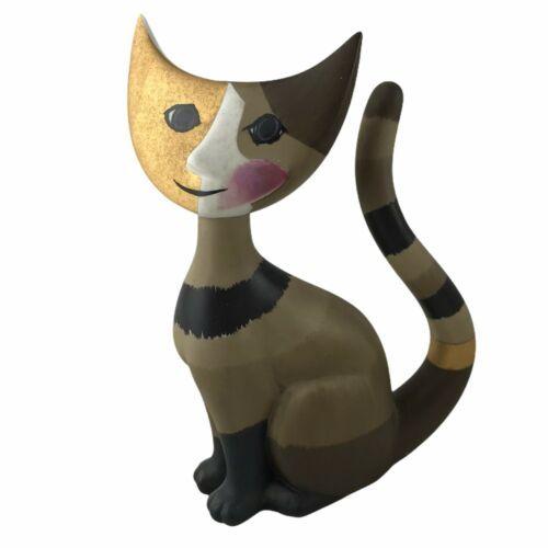 2001 Goebel Germany Cat Figurine Artis Orbis R. Wachtmeister Amica Porcelain 6.5 - $55.74