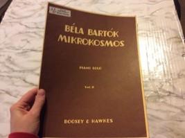 Bela Bartok Mikrokosmos Piano Solos Volume 11 Boosey Hawkes Sheet Music  - $5.13