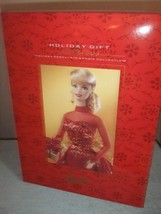 Barbie Holiday Gift  1998  Holiday Porcelain Barbie Collection   #24 - $79.20
